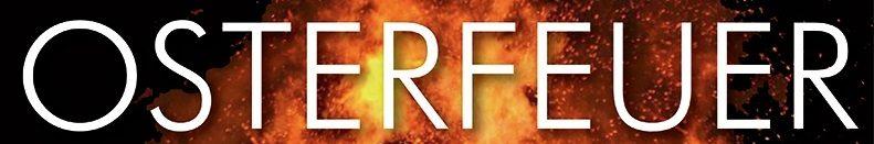 Prasselndes Feuer und große Ostereiersuche